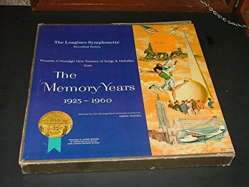 The Memory Years 1925-1960 Longines Symphonette 6 Box Set