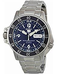 Seiko Mens SKZ209J1 Dark Blue Dial Watch