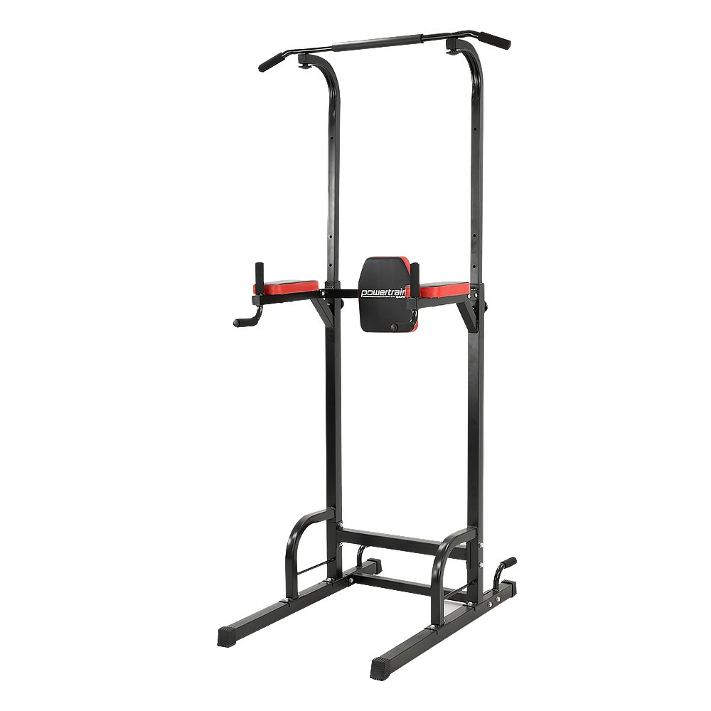 511ff30bed2 Powertrain Chin Abs Dip Pull Up Multistation Home Gym Exercise Equipment  Tower  Amazon.com.au  Sports