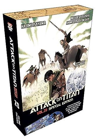 Attack on Titan 20 Special Edition w/DVD (Attack In Titan Dvd)