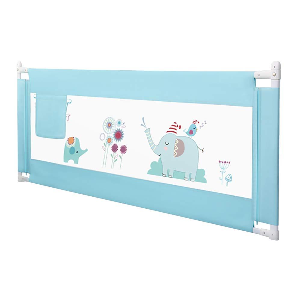 ベッドフェンス エクストラハイ幼児垂直リフトベッドガードレール、調節可能な落下防止赤ちゃん保護バッフル、大きなベッドユニバーサル (サイズ さいず : Length 220cm) Length 220cm  B07MNTZB86