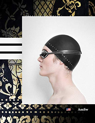 American Swimmers - Professional Silicone Swim Cap - for Men and Women - 2019 Ultra Premium Edition - Ultra-Sleek Design/Wrinkle-Free/Extra Durability/Skin-Friendly (Black)