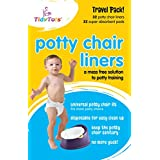 Tidy Tots Disposable Potty Chair Liners - Travel Pack...