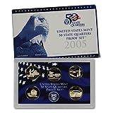 #9: 2005 S US Mint Quarters Proof Set OGP