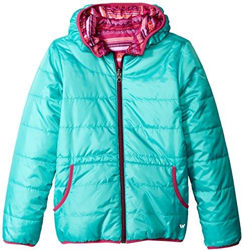 - White Sierra Girls Rocky Rivers Reversible Jacket, Mint, XX-Small