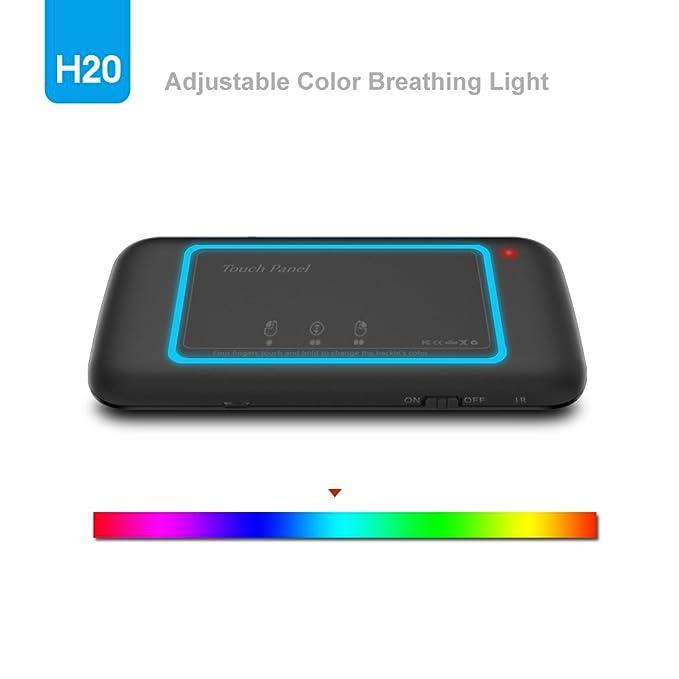 Amazon Meerveil H20 24ghz Mini Wireless Remote Keyboard Mouse