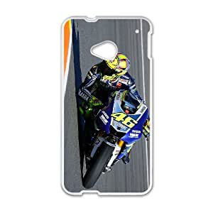 HTC One M7 Cases Cell Phone Case Cover Valentino Rossi 46 5R56R816320