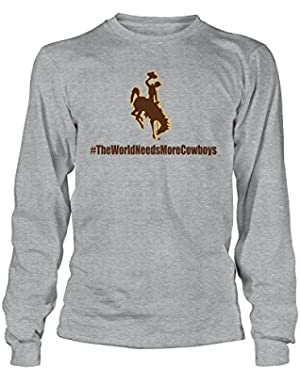 Wyoming Cowboys University Of Wyoming – The World Needs More Cowboys T-Shirt