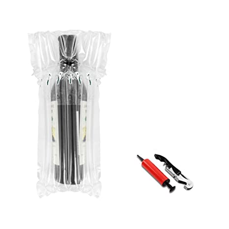 Amazon.com: 36 pcs botella de vino Protector Gas Columna ...