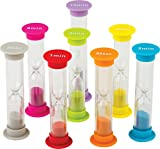 Teacher Created Resources Small Sand Timers Combo, Pack of 8 (20697)