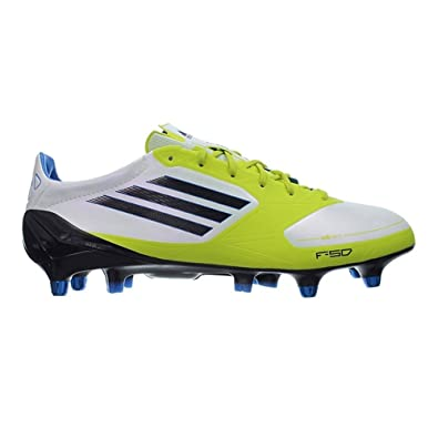 sneakers for cheap 898a9 6150b Adidas F50 Adizero XTRX SG Syn V21452 soccer cleats men White Lime   Amazon.co.uk  Shoes   Bags