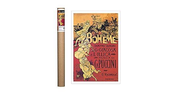 EuroGraphics Hohenstein-Puccini-La Boheme Poster 27.5 x 19.75 inch