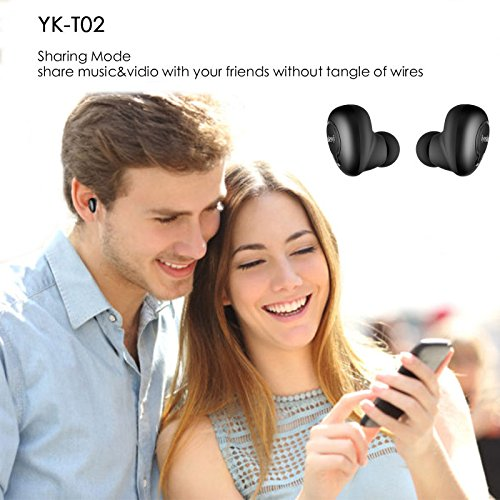 99fd5da0388 True Wireless Earbuds with Charging Case, iyesku Sports Bluetooth ...