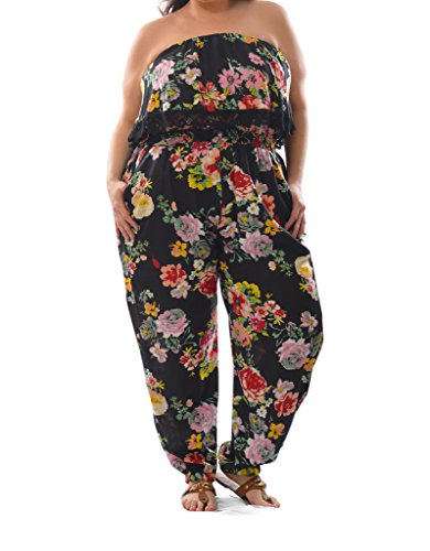 plus-size-womens-rayon-chali-printed-strapless-jumpsuit-with-crochet-details