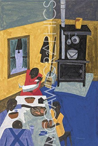 Art Poster Print - This is a Family Living in Harlem, 1943 - Artist:
