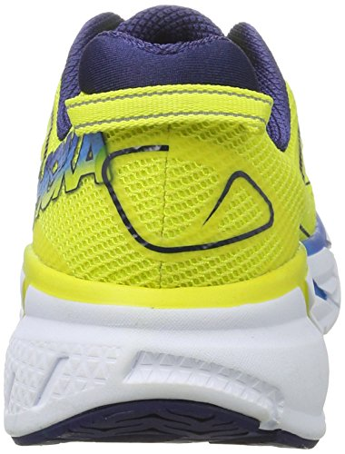 Hoka One One Clifton 3, Zapatillas de Running para Hombre, Amarillo (Citrus/Dresden Blue), 45 1/3 EU