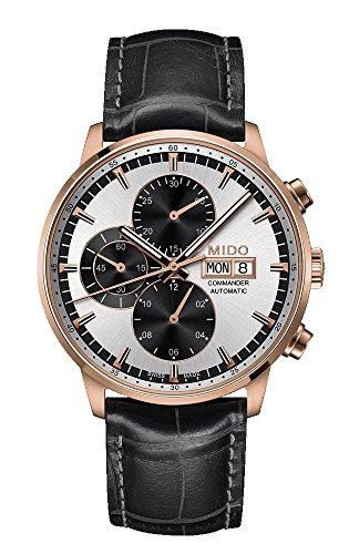 Mido Mens Commander Automatic Chronograph Watch M016.414.36.031.59 (Mens Commander Chronograph Watch)