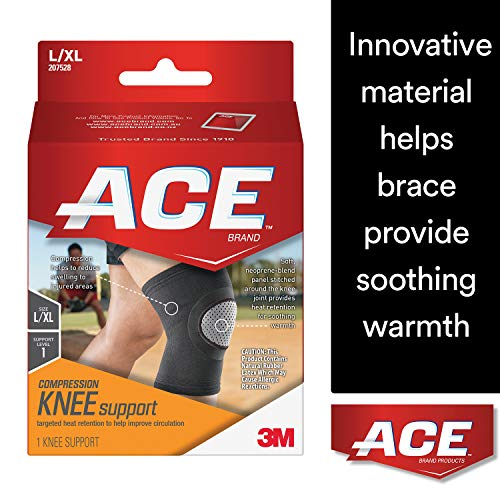 Ace Elasto-Preene Knee Support, Large/Extra - Elasto Support Back