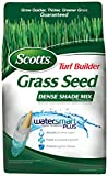 Scotts 18341 Turf Builder Dense Shade Mix for Tall Fescue Lawns Grass Seed (4 Pack), 7 lb