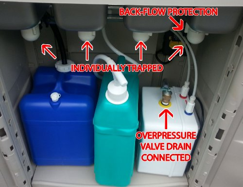 Portable Sink With Hot Water Mobile Concession 4