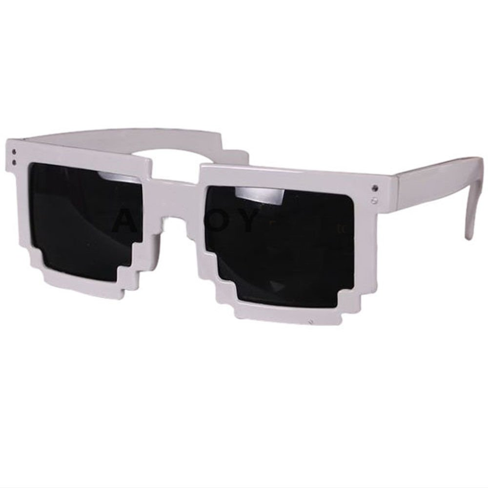 Pixel Sunglasses Adults Unisex Glasses Shades Children Mosaic Deal With It meme