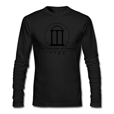 d469597c37d5 Men University Of Georgia Long Sleeve T-Shirt HeatherGray | Amazon.com