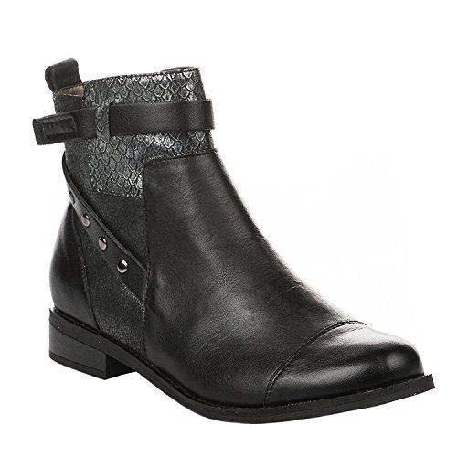 Noir Femme Durable Madison 50004903 Service Boots Acdi XwkOPZiuT