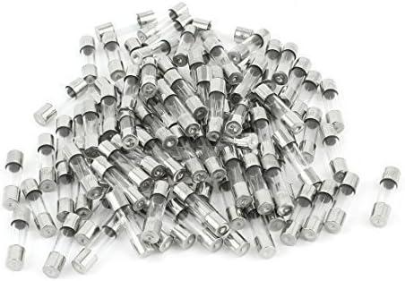 Ginsco 110 St/ück 5x20mm Feinsicherung Glassicherung Glasrohr assortierte Kit Amp 0.2A-15A mit Box