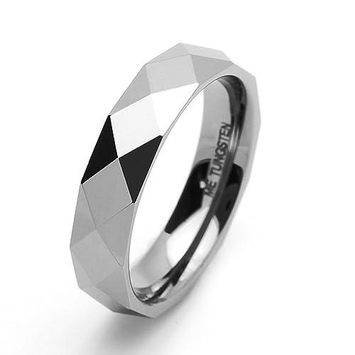 Pequeños Tesoros 5MM Carburo De Tungsteno - Anillo De Matrimonio Libre de cobalto