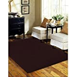 Level Loop SI8912A.42 Remnant Rug, Polypropylene Material Size:(8'9 x 12′, Burgundy) For Sale