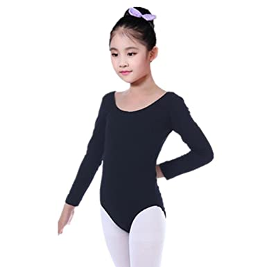 6f04e6f96e06 Amazon.com  Fullfun 2-7T Girls Dance Leotards Tops Bodysuit ...