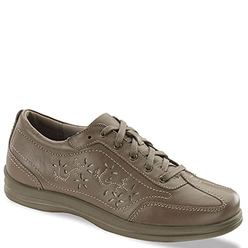 (Apex Women's Robyn Chop Out Lace-Up Oxford,Tan Full Grain Leather,US 12 M)