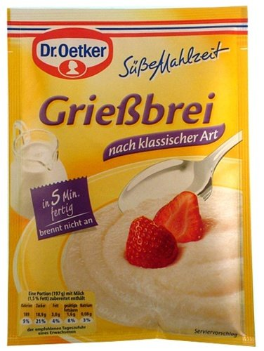 (Dr. Oetker Suesse Mahlzeit Griessbrei (92g ))