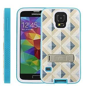 [ManiaGear] Rugged Advenced Armor-Stand Design Image Protect Case (Diamond Maze) for Samsung Galaxy S5