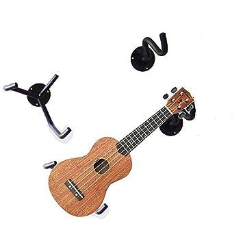 Ukelele guitarra eléctrica perchero de pared horizontal ...