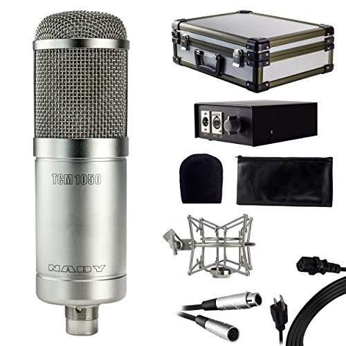 Nady TCM-1050 Vacuum Tube Condenser Microphone with Case and Shock Mount -