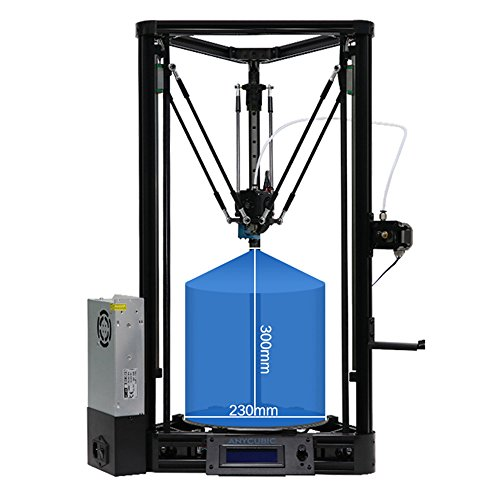 ANYCUBIC Delta 3D Printer Update Linear Plus Version with Auto Leveling Modular...