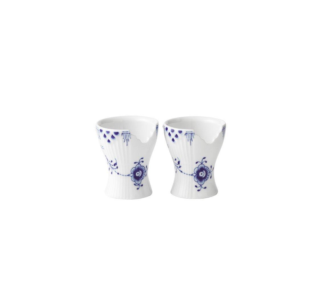 Royal Copenhagen Blue Elements Egg Cups, Set of 2