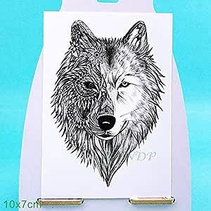 ljmljm 6pcs Impermeable Tatuaje Siberia Bosque del árbol del ...
