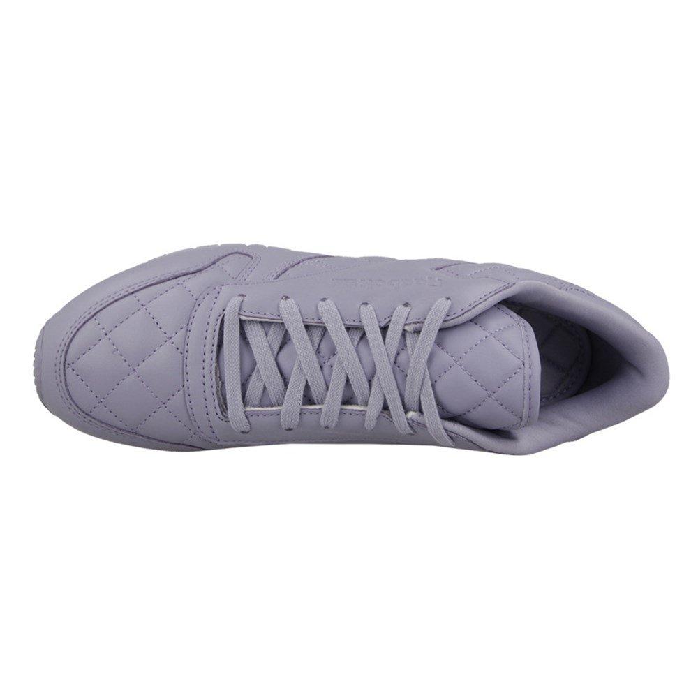 Reebok Classic Leather Quilted Damen Turnschuhe Lila Lila Lila 1e2dd2
