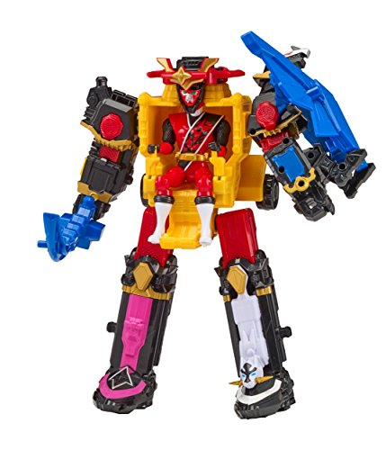 Power Rangers Super Ninja Steel DX Megazord Figure (Power Rangers Super Megaforce Legendary Megazord Figure)