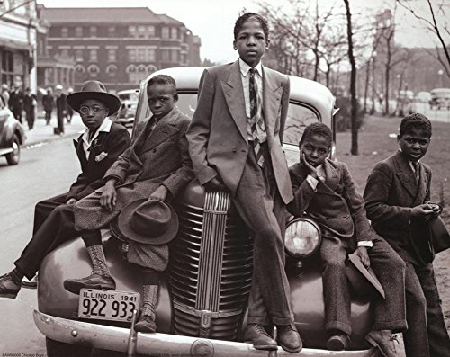 (11x14) Sunday's Best (Chicago Boys 1941) Art Poster Print