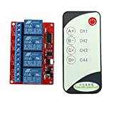 4 Channel 4CH 24V IR Infrared Remote Controll Switch Relay Module