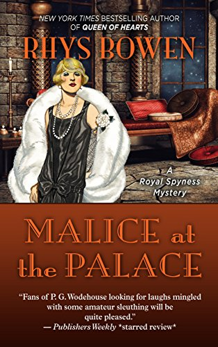 book cover of Malice at the Palace