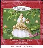 1 X QXI6821 Celebration Barbie 1st 2000 Special Edition New Collector's Series Hallmark Keepsake Ornament