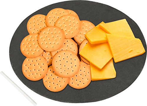 Trademark Innovations Round Cheese Serving