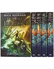 Percy Jackson and the Olympians - Juego de 5 libros en caja (Boxset con póster) (Percy Jackson & the Olympians)