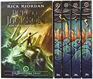 Percy Jackson and the Olympians - Juego de 5 libros en caja (Boxset con póster) (Percy Jackson & the Olymp
