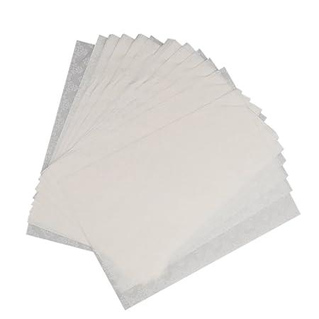 LOVIVER Frischhaltepapier Wachspapier Metzgerpapier 35 X 25 Cm DIY Verpackung Weiß