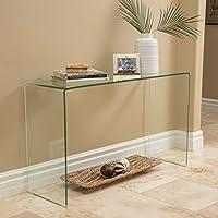 Classon Glass Console Table
